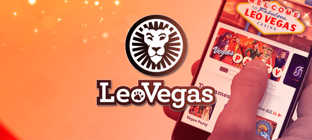 Leovegas casino leijona logolla ja mobiilipelaamisen ykkönen