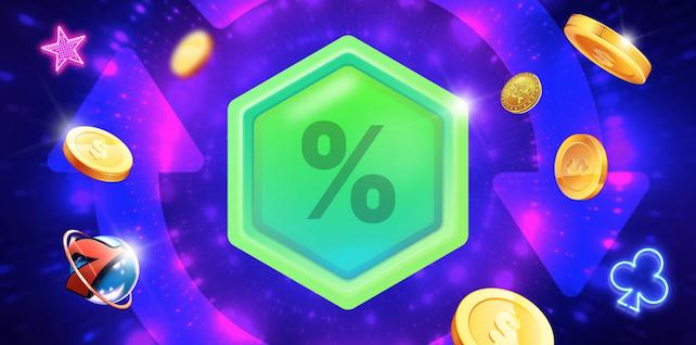 megarush bonus tarjoaa prosentuaalisen rahanpalautuksen