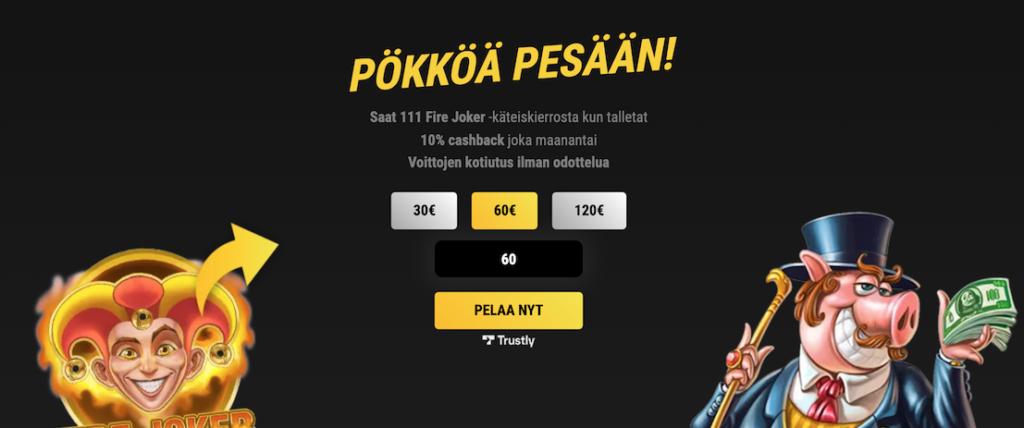 vips casino toimii nykyään ilman rekisteröitymistä
