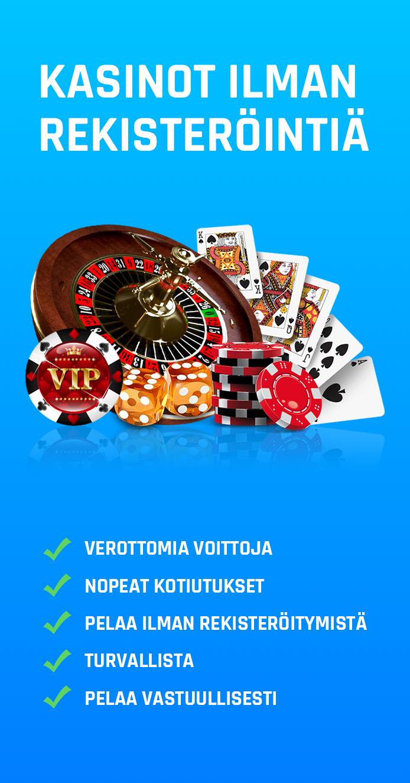 Miksi kasinot ilman rekisteröintiä ovat niin suosittuja?